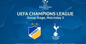 Еврофутбол прогноза: Шампионска лига - АПОЕЛ - Тотнъм, 26 септември 2017 г. - Типстъри - спортни прогнози