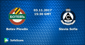 Forecast for Botev - Slavia, 3.11.2017 by Beavis