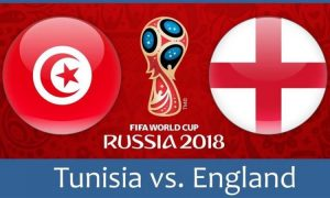 Англия - Тунис на Световното в Русия