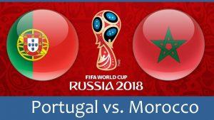 Португалия е опряна до стената, Мароко дебне
