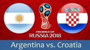 Argentina - Croazia. La partita è sicuramente 1X2
