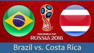 Бразилия - Коста Рика за честта на Латинска Америка