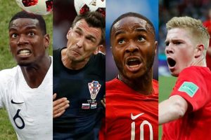 Which team has the most players in the World Cup semifinals?