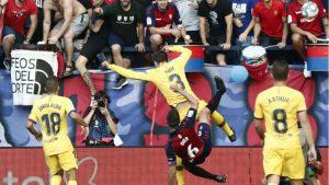 Затруднения в защитата на Барселона