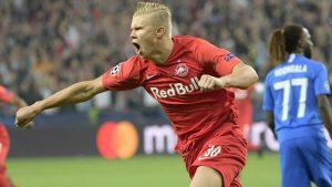 Ерлинг Холанд написа история с хеттрика си в Шампионската лига
