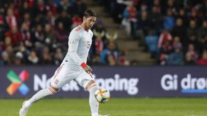 Серхио Рамос стана играчът с най-много изяви за националния отбор в историята на Испания