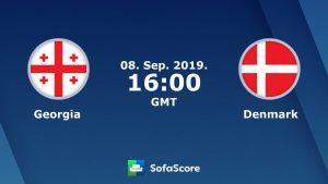 Прогноза за Грузия - Дания, 08.09.2019